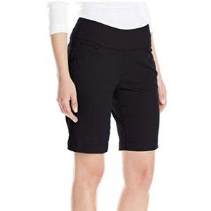 Jag Jeans Ainsley Black Twill Bermuda Shorts 12P